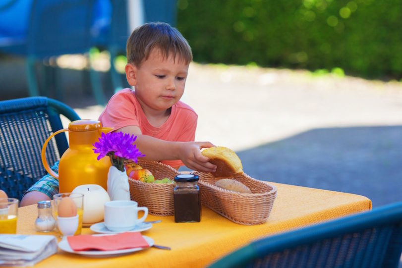 Tips for Eating Out with Young Children