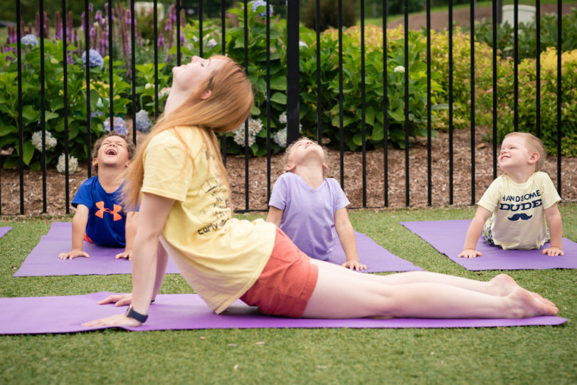 The Benefits of Doing Yoga with Your Children